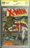 X-MEN #61 CBCS 6.0 OW/WH PAGES // SIGNED BY NEAL ADAMS