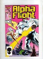 ALPHA FLIGHT - MARVEL COMIC - VOL 1 #44 - MAR 1987