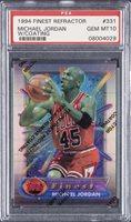 1994-95 Topps Finest Refractor (With Coating) #331 Michael Jordan - PSA GEM MT 10