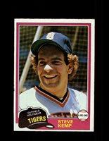 1981 STEVE KEMP OPC #152 O-PEE-CHEE TIGERS GRAY BACK *R4273