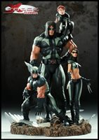 Marvel Statue 14 Inch Polystone Diorama X-Force - X-Force Diorama Regular Version 200035