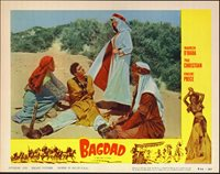 BAGDAD original lobby card MAUREEN O'HARA/PAUL CHRISTIAN 11x14 movie poster