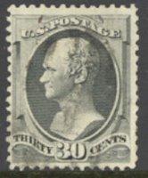 165 30c Hamilton, gray black, Used Minor Defects[0165u3]