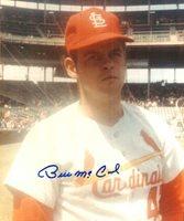 AUTOGRAPHED BILL MCCOOL St. Louis Cardinals photo