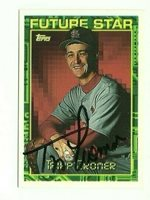 Tripp Cromer 1994 Topps signed auto autographed card Cardinals