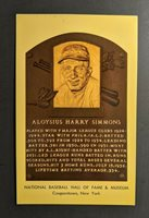 1969 Hall of Fame Plaque Aloysius Harry Simmons FDC Postcard Cover