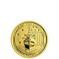 1/4 oz Australian Battle Of The Coral Sea Gold Coin (BU)