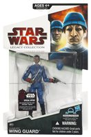 Star Wars Legacy Collection 3 3/4 Inch Action Figure Build-A-Droid Series (2009 Wave 7) - Cloud City Wing Guard Black BD50
