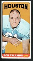 1965 Topps Football Card #85 Bob Talmini-Houston Oilers.