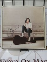 "Emmylou Harris ""White Shoes"" Autographed Signed LP Record LOM COA (G156)"
