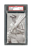 1947 - 1966 EXHIBITS STAN MUSIAL KNEELING - PSA NM-MT 8 (ONLY 1 GRADED HIGHER)