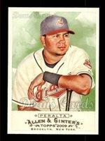 2009 Topps Allen Ginter 197 Jhonny Peralta Cleveland Indians Baseball Card Deans Cards 8