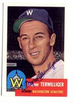 Wayne Terwilliger Hand-Signed Card With Certificate Of Authenticity