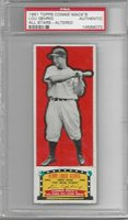 1951Topps Connie Mack's ASLou GehrigTape EX/MT frontPSA AYankees