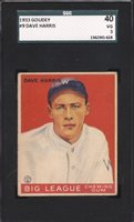 1933 Goudey — Dave Harris #9 — SGC 40/3