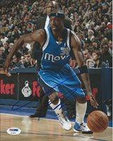 Jason Terry Signed 8x10 Photo Autographed PSA/DNA Dallas Mavericks P72871