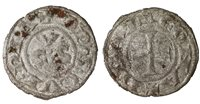 ITALY ANCONA (Repubblic). 1250-1300 dc. Denaro.