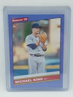 Michael King 2020 Donruss Baseball - #256 RC - New York Yankees