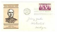 US #856 1939 first day cover; Canal Zone 25 year, General Goethals cachet [c7