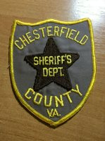 CHESTERFIELD COUNTY PATCH SHERIFF POLICE VIRGINIA VA