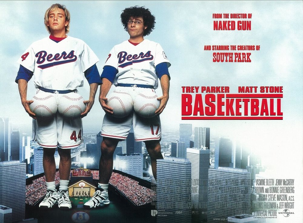 Baseketball movie poster : Trey Parker, Matt Stone, Sou