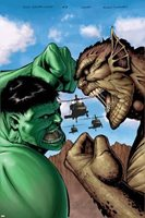 Hulk: Destruction No.2 Cover: Hulk and Abomination