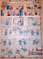 Elmer by Doc Winner & Clarabell's Cousin - full page Sunday comic April 28, 1929