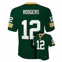NFL Jersey AARON RODGERS #12 Packers Home YOUTH Large/L 14-16 NWT $55.00