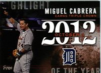 2015 Topps Highlight Of The Year #H-5 Stan Musial Cardinals Baseball Card NM-MT