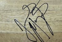 JAMES MAYS AUTOGRAPHED HAND SIGNED FLOORBOARD CLEMSON TIGERS BROOKLYN NETS w/COA