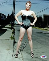 Neve Campbell SIGNED 8x10 Photo Wild Things Scream SEXY PSA/DNA AUTOGRAPHED