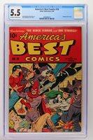 America's Best Comics #18 - Nedor Publications 1946 CGC 5.5 Bondage torture cove