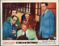 JAMES CAGNEY A LION IS IN THE STREETS ORIG 11X14 LOBBY CARD LC2579