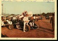 Lynn Geisler #97-Sprint Car-Race Photo