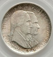 PCGS Certified MS63 Sesquicentennial Commemorative Silver Half Dollar 1926 OGH