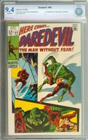 DAREDEVIL #49 CBCS 9.4 OW PAGES