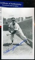HARVEY HADDIX PSA/DNA SIGNED VINTAGE PHOTO POSTCARD AUTOGRAPH AUTHENTIC