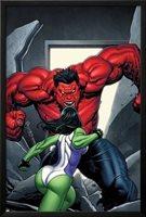 King Size Hulk No.1 Cover: She-Hulk and Rulk