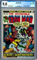 Iron Man #55 CGC 9.0 (W) 1st appearance of Thanos 1st Drax