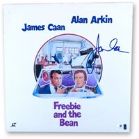 James Caan Signed Autographed Laserdisc Cover Freebie and the Bean JSA U16579