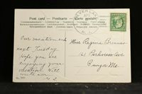 New Jersey: Silver Lake 1909 Easter Postcard, DPO Essex Co