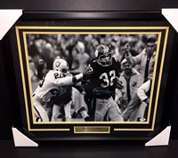 43995f24308 FRANCO HARRIS AUTOGRAPHED IMMACULATE RECEPTION SIGNED 1