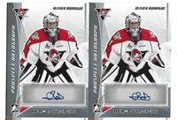 2016-17 Leaf ITG Heroes & Prospects Olivier Rodrigue Platinum Auto RC Canadiens
