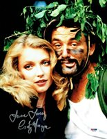 Cindy Morgan w/ Bill Murray Signed Caddyshack Autographed 11x14 Photo PSA/DNA #1