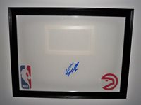 ATL Hawks DOMINIQUE WILKINS Signed Auto Basketball COA!