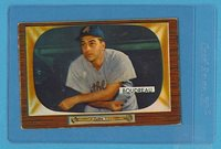 1955 Bowman Baseball #89 Lou Boudreau, Athletics (EX)
