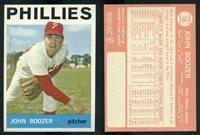 (62674) 1964 Topps 16 John Boozer Phillies-EM