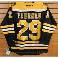 Landon Ferraro Boston Bruins Signed Autographed Bruins Home Hockey Jersey