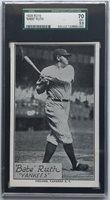 1928 R315 Type B - Babe Ruth SGC 70 EX+ 5.5
