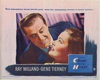 CLOSE TO MY HEART Original Lobby Card 1 Ray Milland Gene Tierney